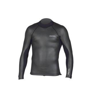 Xcel Wetsuits Xcel 2 mm axis top l/s smoothskin b/zip