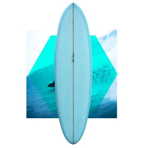 Gato heroi space roach 6'4 blue // SOLD