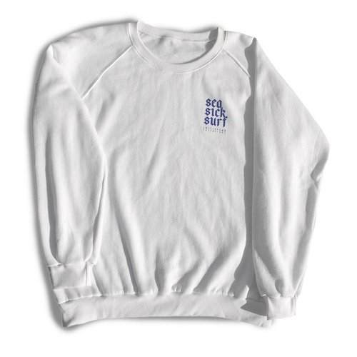Sea Sick Surf Sea Sick Surf men's sweater white