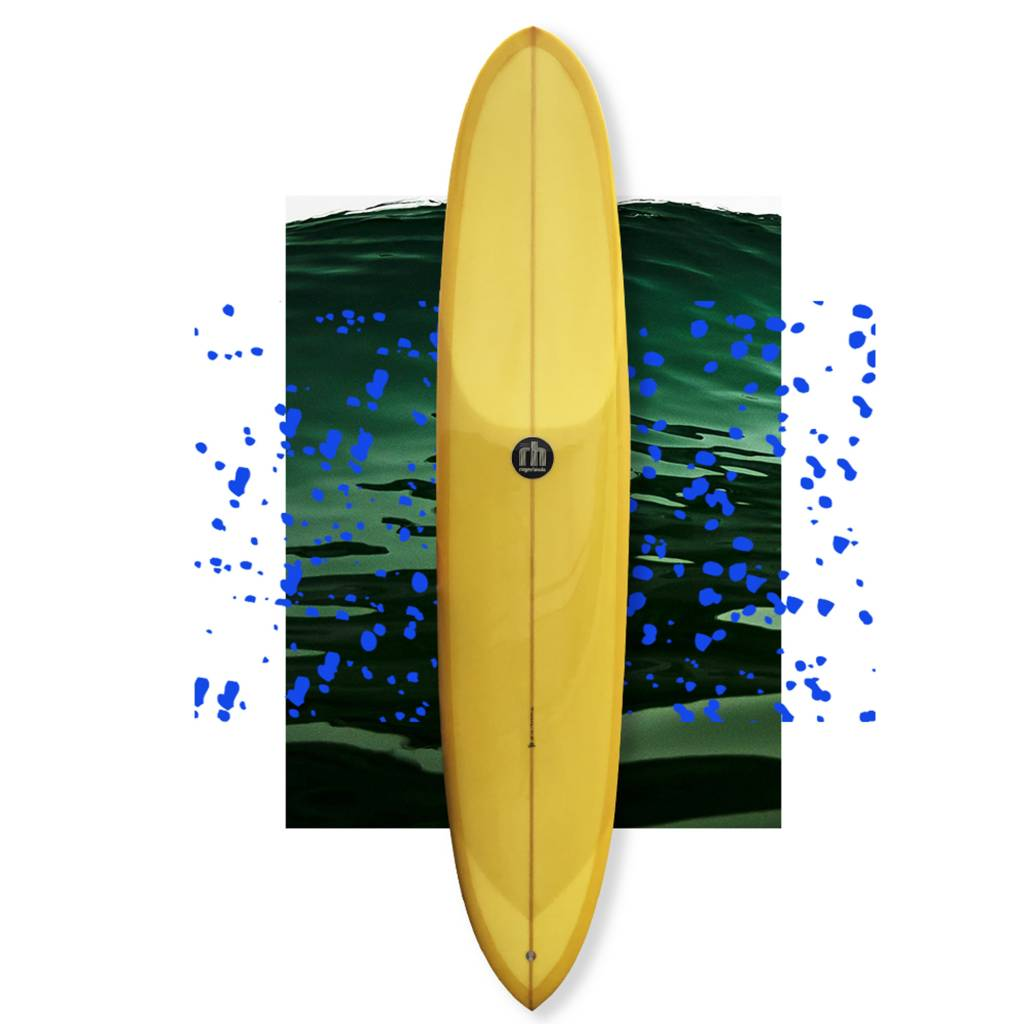 Roger Hinds dream step deck yellow 9'4