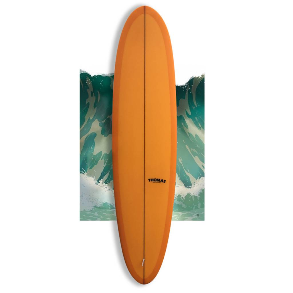 Thomas Bexon hullabaloo 7'9 orange