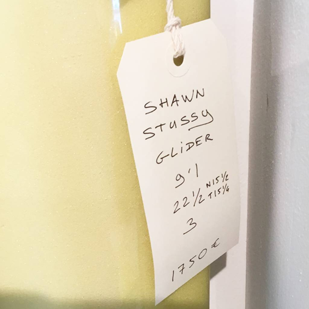 Shawn Stussy glider 9'1 yellow