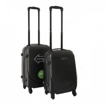 ABS handbagage koffer. Zwart