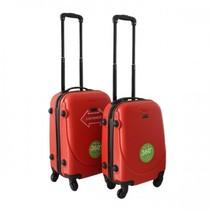 ABS handbagage koffer. Rood