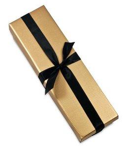 Luxe gouden doos met losse deksel
