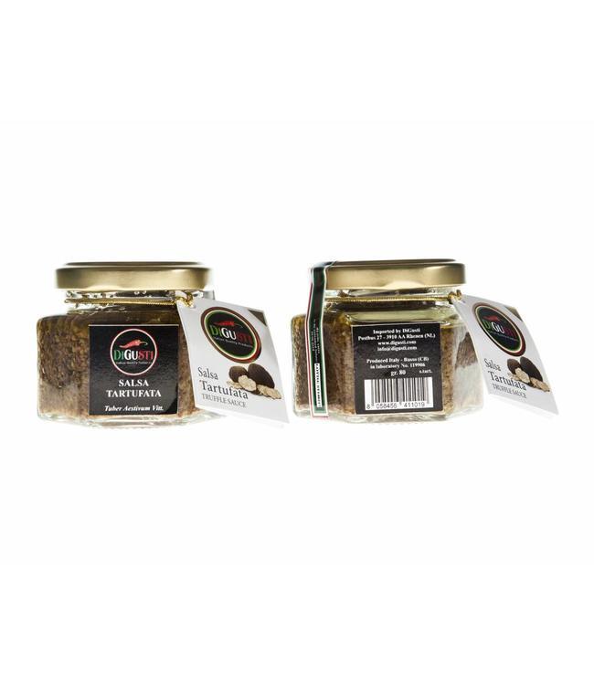 Di Gusti Zwarte truffel tapenade (5%) 80 gr.