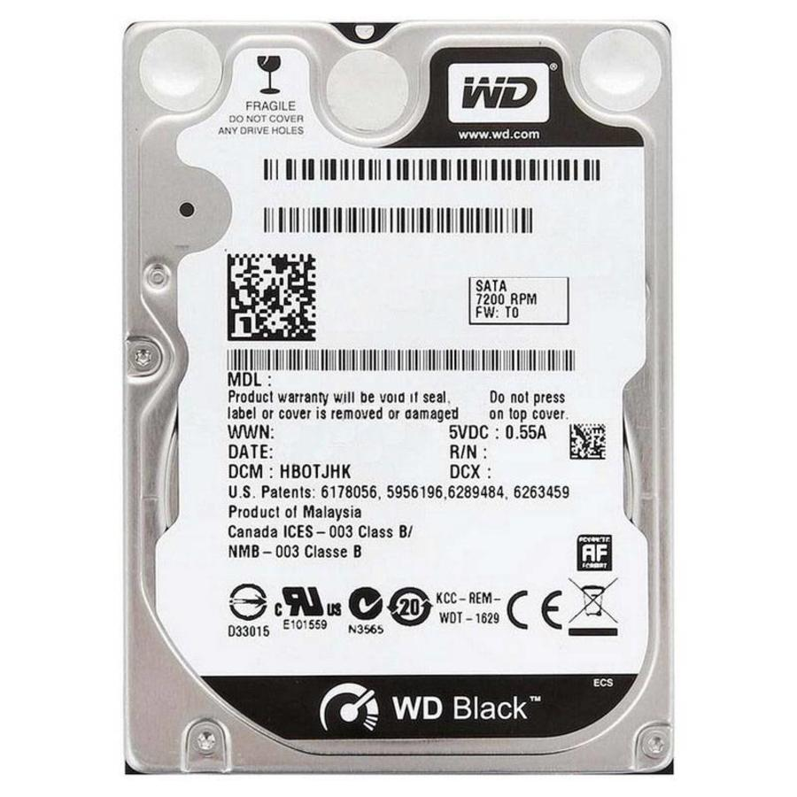 Western Digital WD Scorpio Black 250GB 2.5 inch
