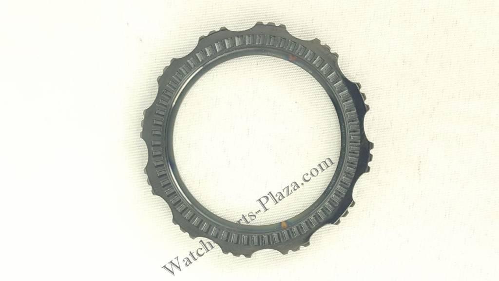 SEIKO SRP653K1 / SRP655K1 Black Silicon Watch Band Z 22 mm ...