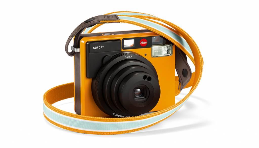 Leica Strap SOFORT, white-black