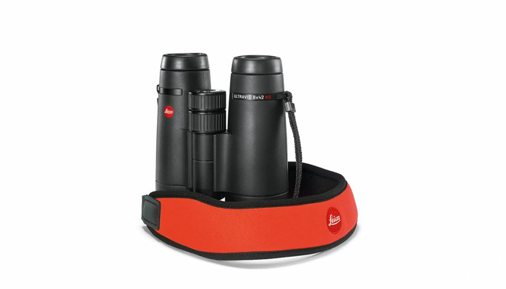 Leica Binocular Strap, neoprene, juicy orange