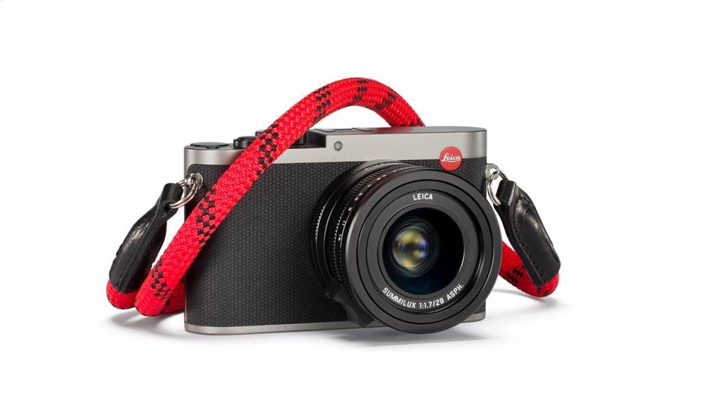 Leica Rope Strap designed by COOPH, 126cm, fire