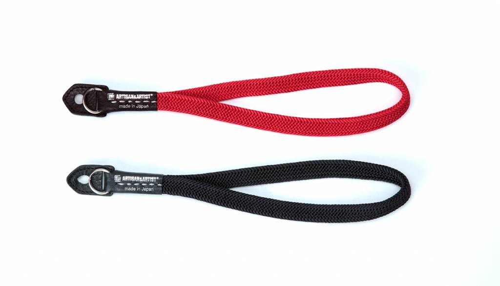 Artisan & Artist ACAM 311N silk camera strap - red