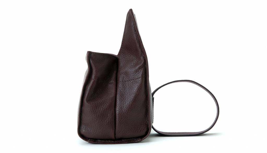 Artisan & Artist ACAM 77 leather soft pouch - brown