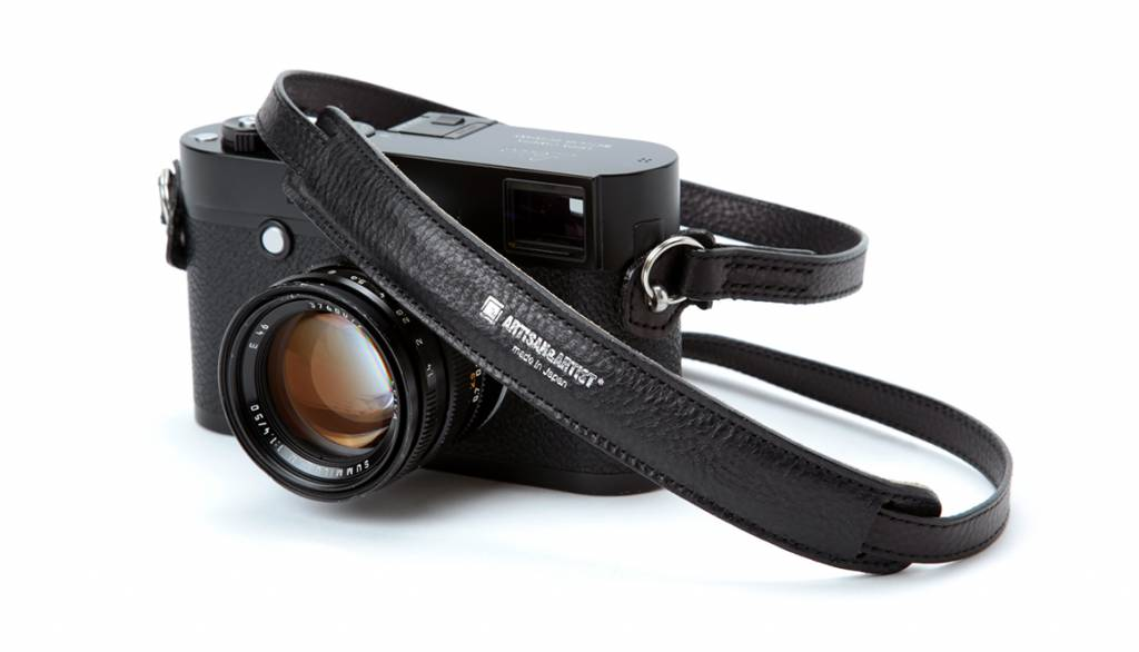 Artisan & Artist ACAM 255A leather camera strap - brown