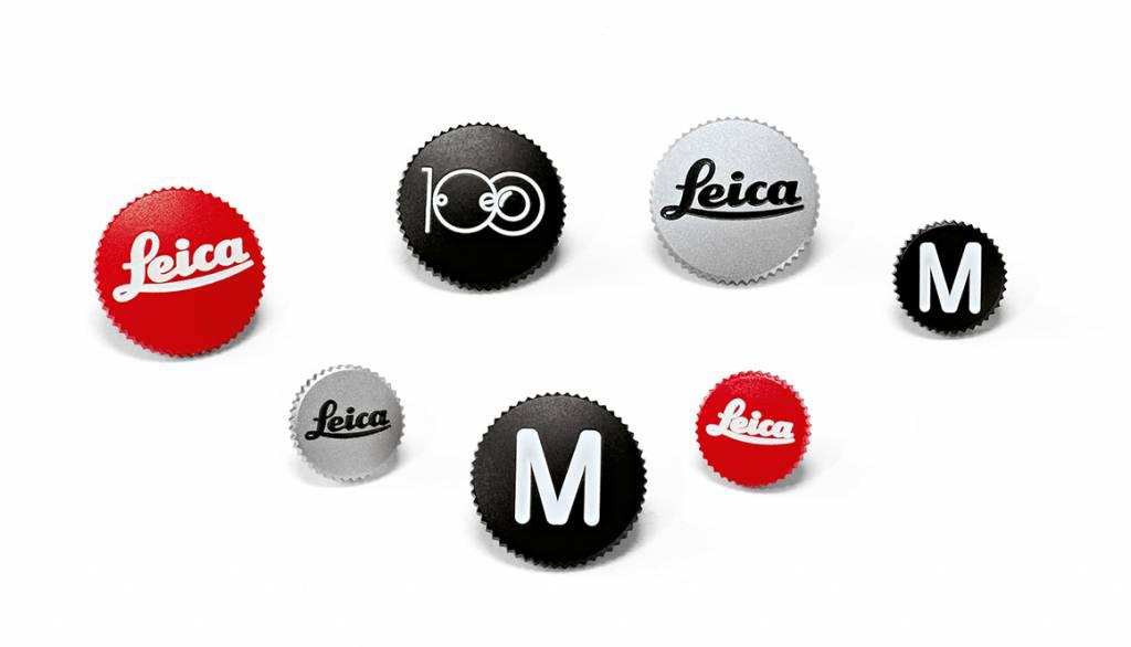 Leica Soft Release Button, 8mm, chrome