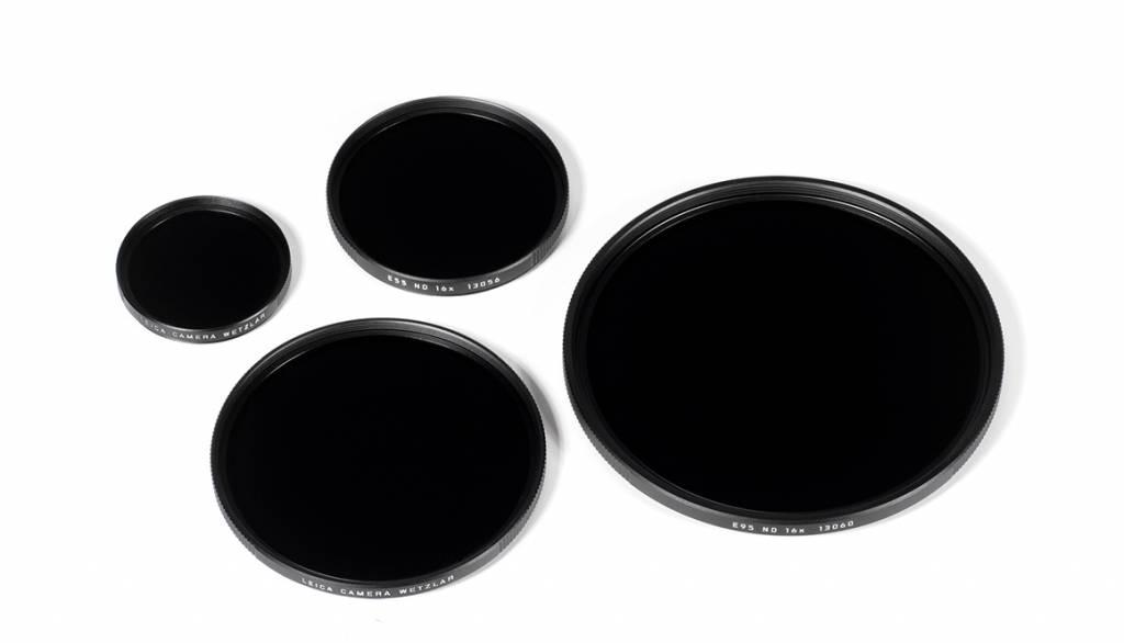 Leica ND Filter 16x, E82, black