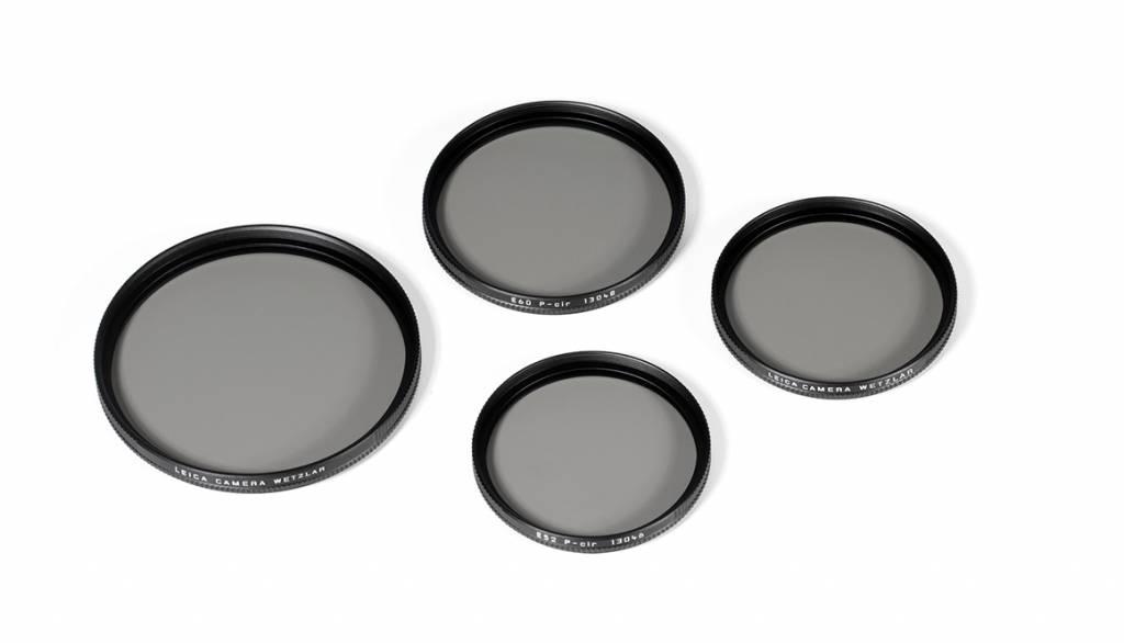 Leica CP Filter, E55, black