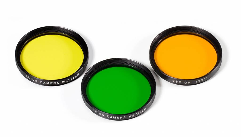 Leica Green Filter, E39, black