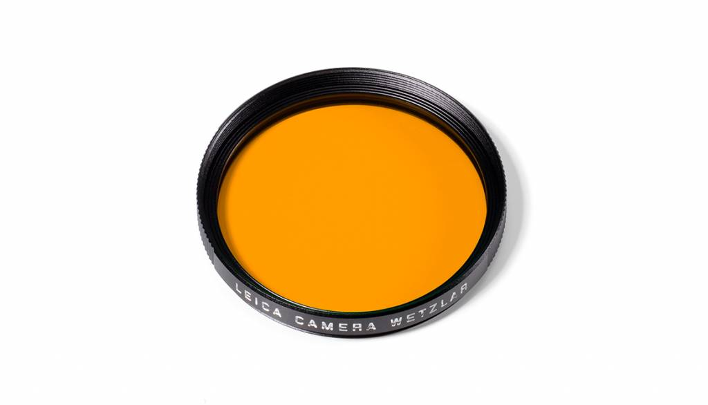 Leica Orange Filter, E46, black