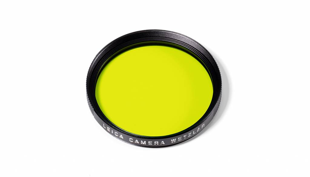 Leica Yellow Filter, E39, black