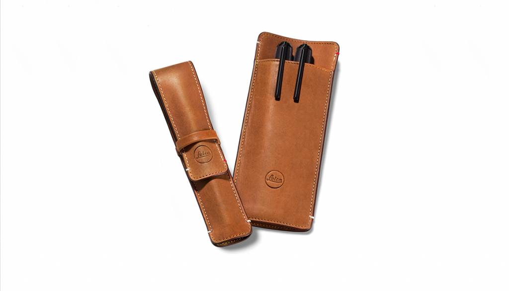 Leica Single-Pen Case, leather, brown