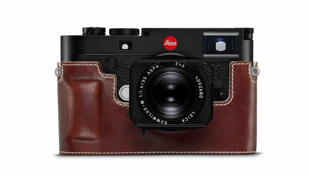Leica Protector, M10, leather, vintage brown