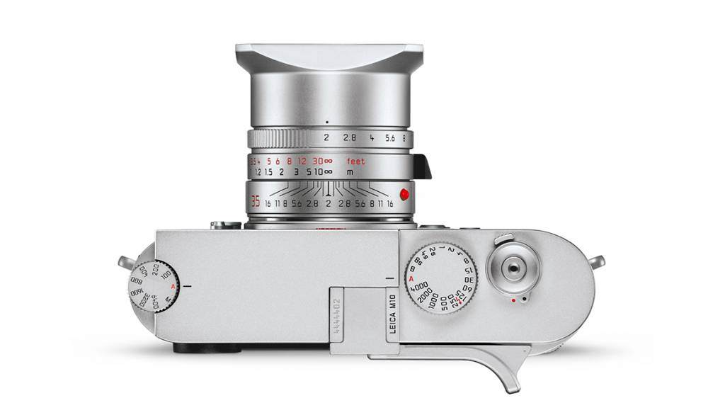 Leica Thumb support, M10, silver