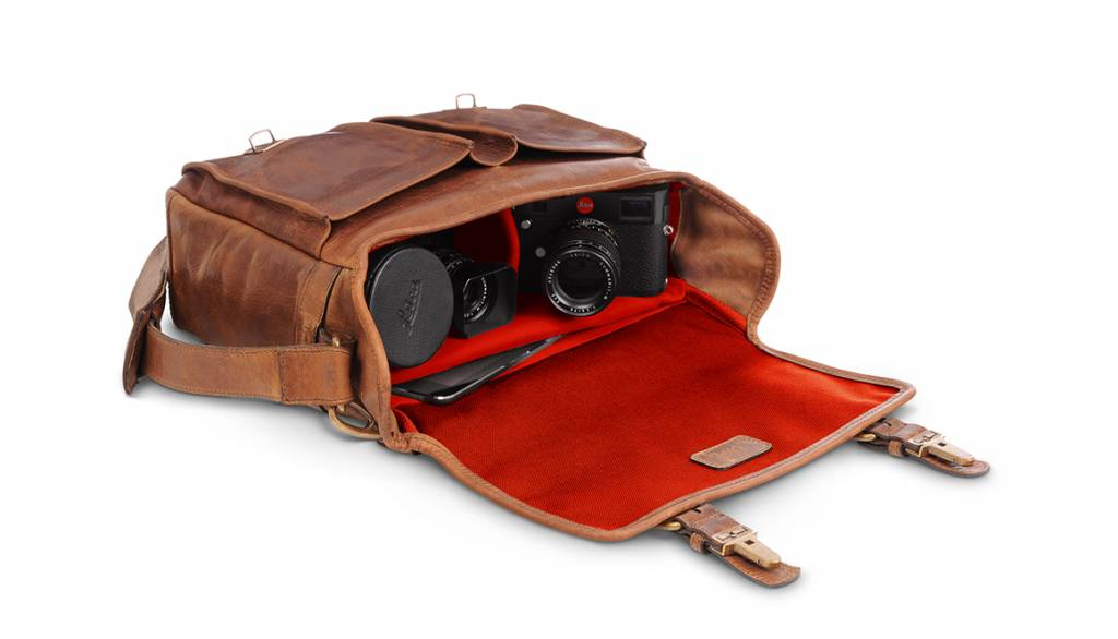 ONA Prince Street for Leica, leather, antique cognac