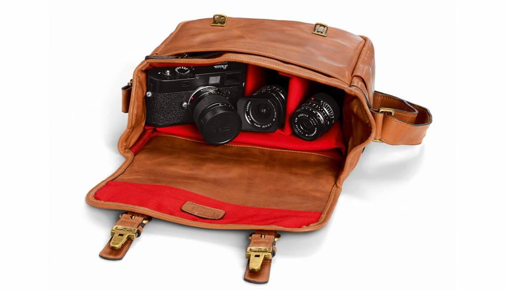ONA Berlin II for Leica, leather, vintage bourbon