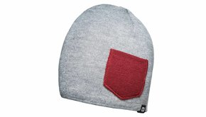 COOPH COOPH Beanie WINTER gray/red