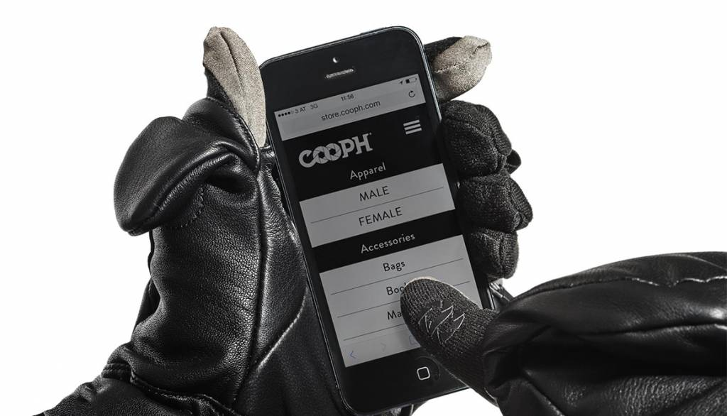 COOPH Photo gloves ULTIMATE, black, M