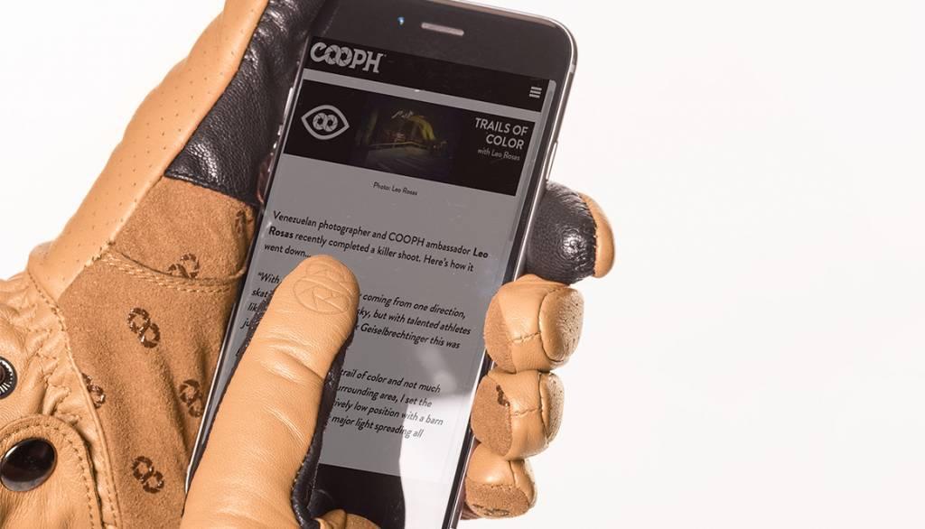 COOPH Photo gloves ORIGINAL, light brown, M