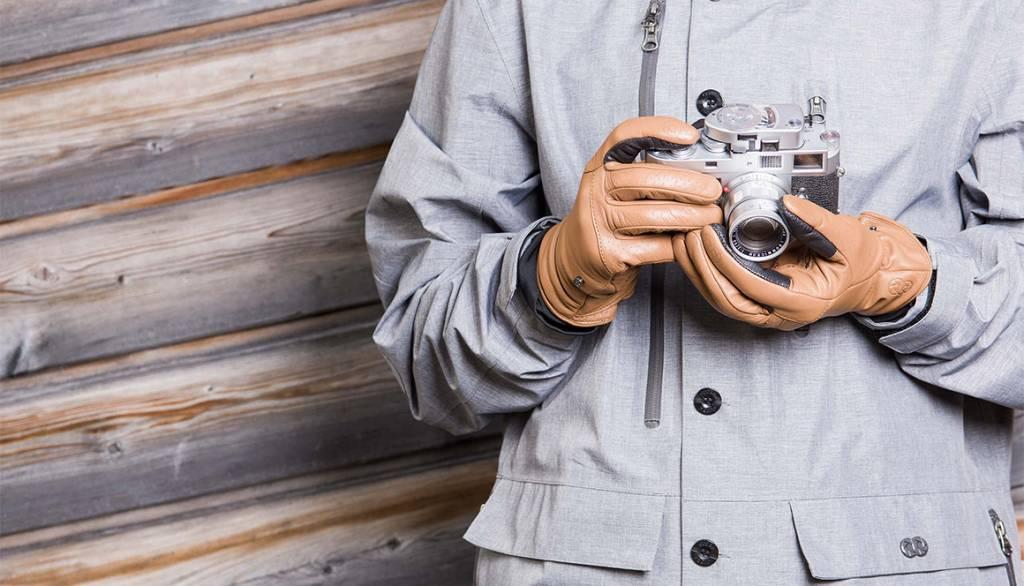 COOPH Photo gloves ORIGINAL, light brown, XXL