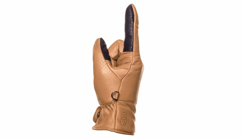 COOPH Photo gloves ORIGINAL, light brown, XL