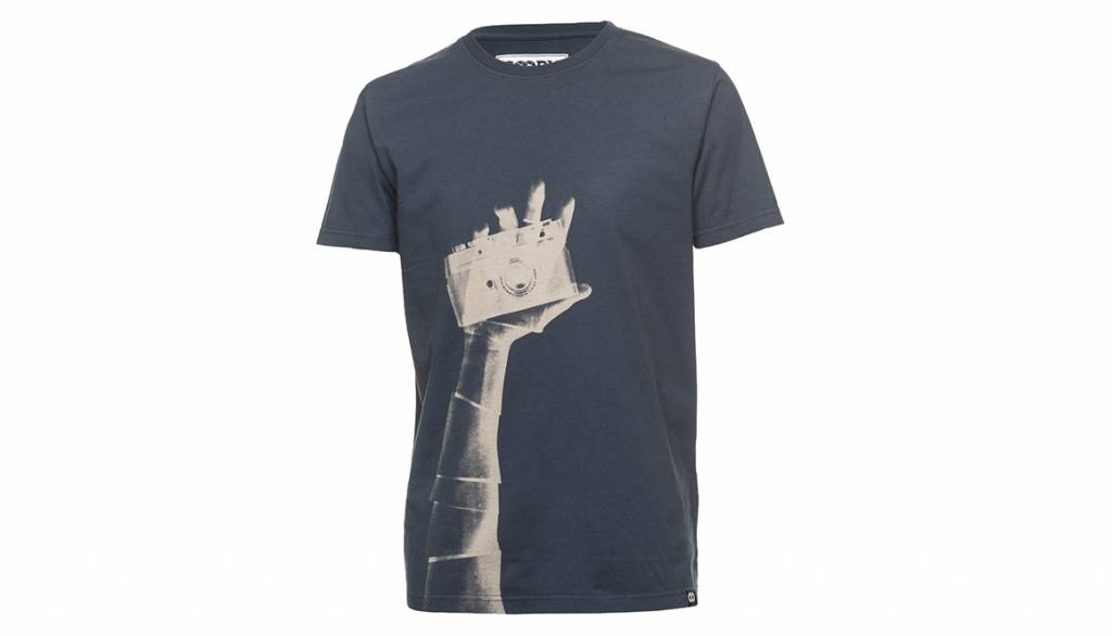 COOPH T-Shirt SNAPOGRAPHER, blue, XXL