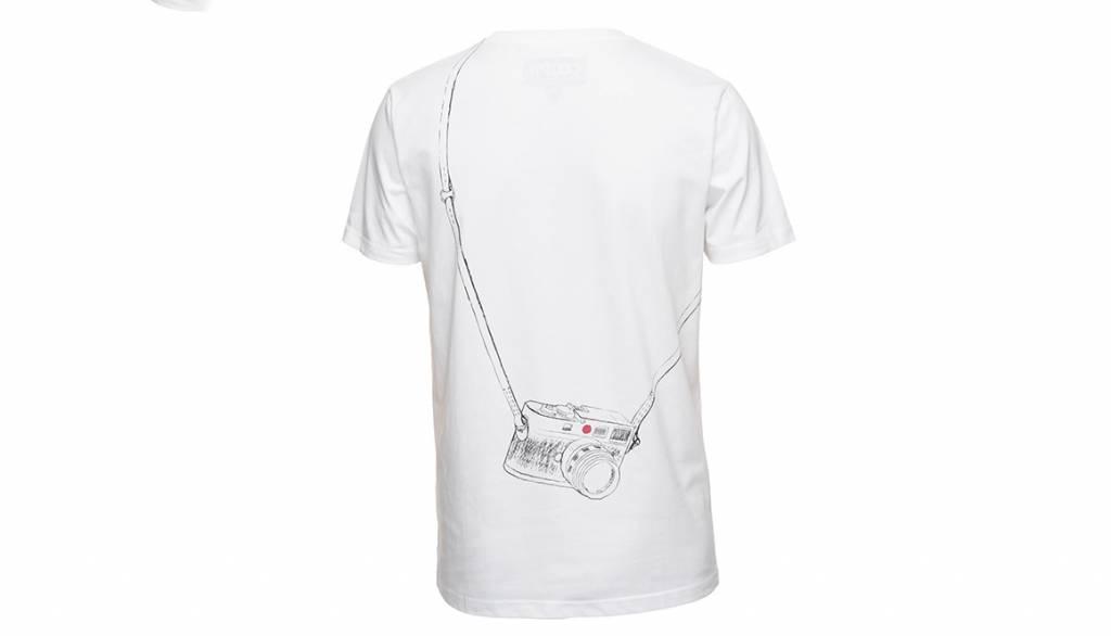 COOPH T-Shirt LEICOGRAPHER, white, M