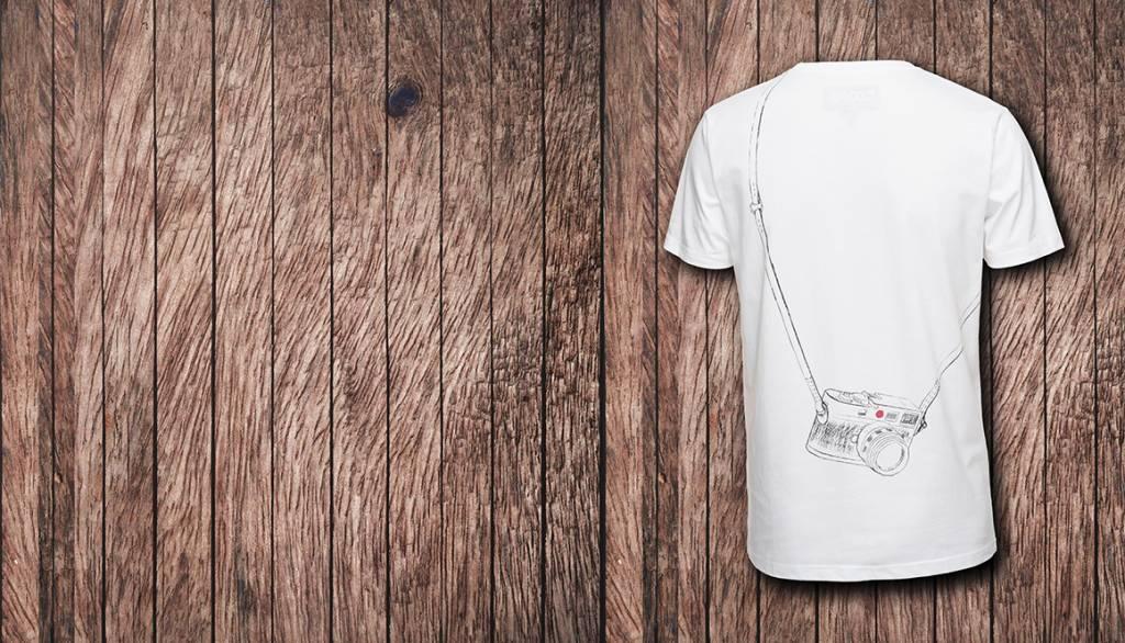 COOPH T-Shirt LEICOGRAPHER, white, XXL