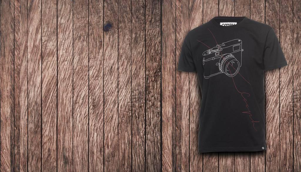 COOPH T-Shirt STITCHCAM, black, XXL