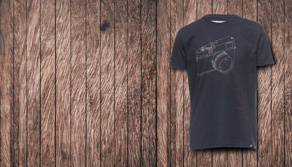 COOPH T-Shirt STITCHCAM, blue, M