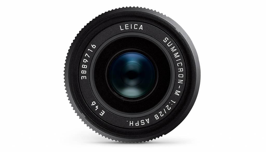 Leica SUMMICRON-M 28mm f/2 ASPH., black