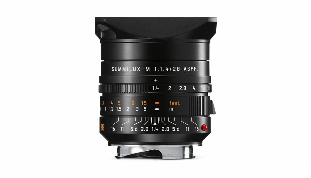 Leica SUMMILUX-M 28mm f/1.4 ASPH., black
