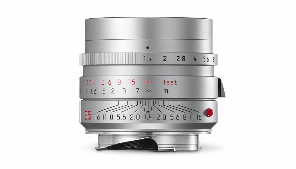 Leica SUMMILUX-M 35mm f/1.4 ASPH., silver