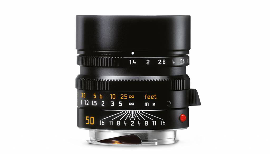 Leica SUMMILUX-M 50mm f/1.4 ASPH., black