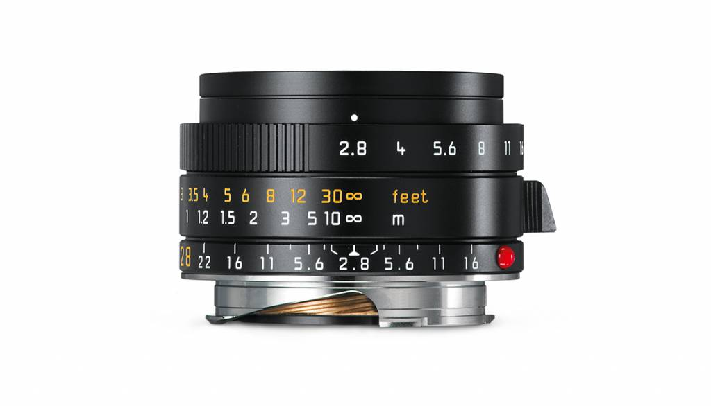 Leica ELMARIT-M 28mm f/2.8 ASPH., black