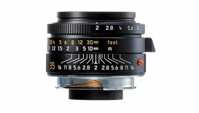 Leica Leica SUMMICRON-M 35mm f/2 ASPH., black