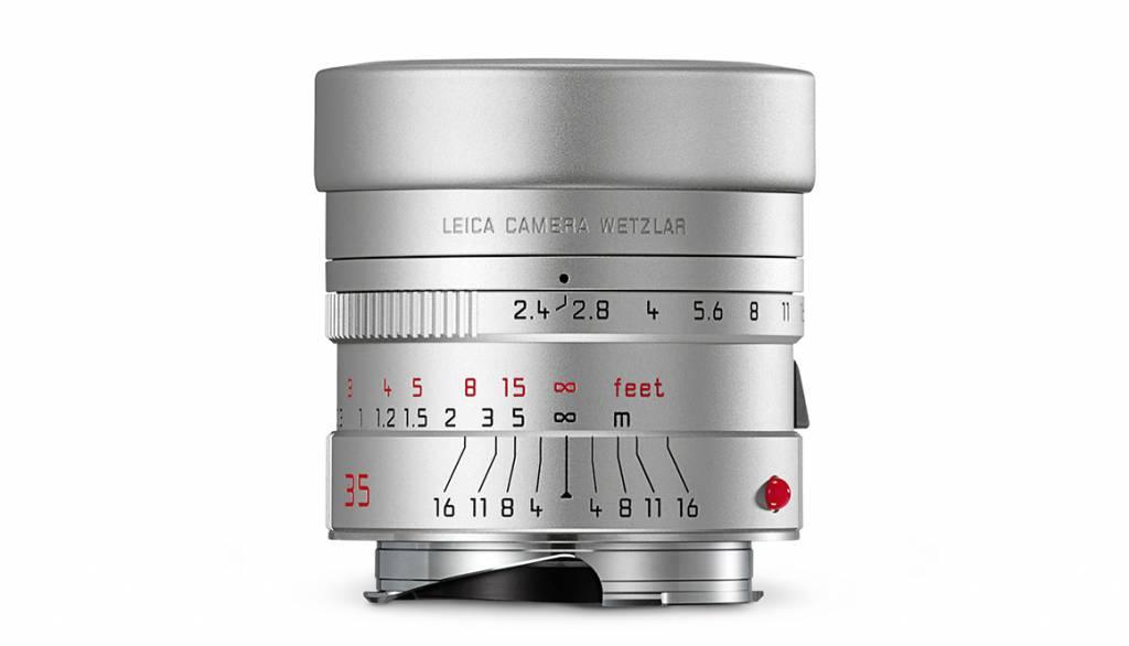 Leica SUMMARIT-M 35mm f/2.4 ASPH., silver