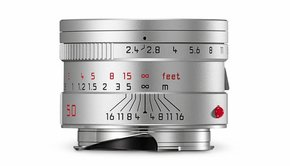 Leica Leica SUMMARIT-M 50mm f/2.4, silver