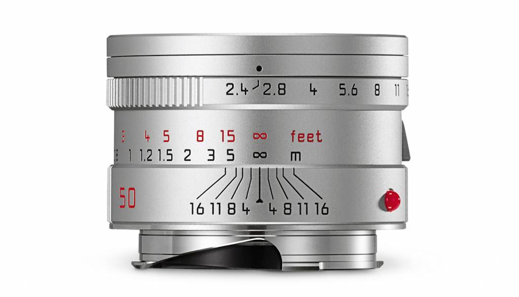 Leica SUMMARIT-M 50mm f/2.4, silver