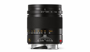 Leica Leica SUMMARIT-M 75mm f/2.4, black