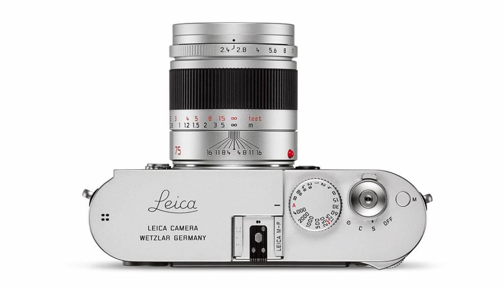 Leica SUMMARIT-M 75mm f/2.4, silver